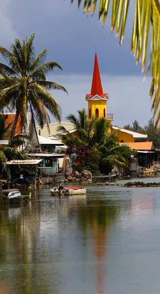 Island of Huahine, Tahiti
