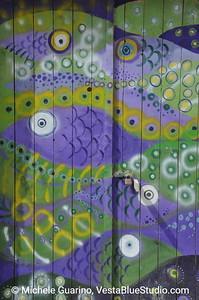 Fish Painted Doorway - Vernazza - Cinque Terre - Italy