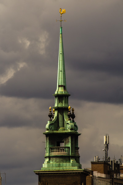Spire of All Hallows by the Tower