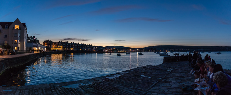 Swanage by night