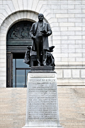 William McKinley National Memorial in Canton, Ohio