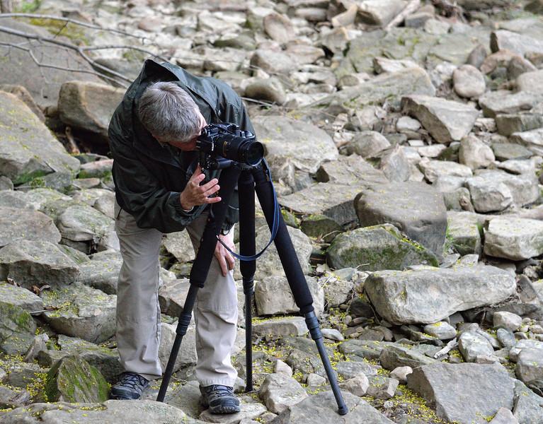 Photographer Close up