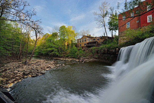 View of Chagrin Falls
