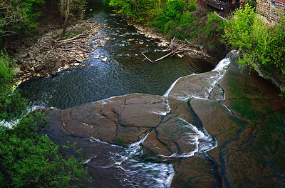 View from the top of the Falls
