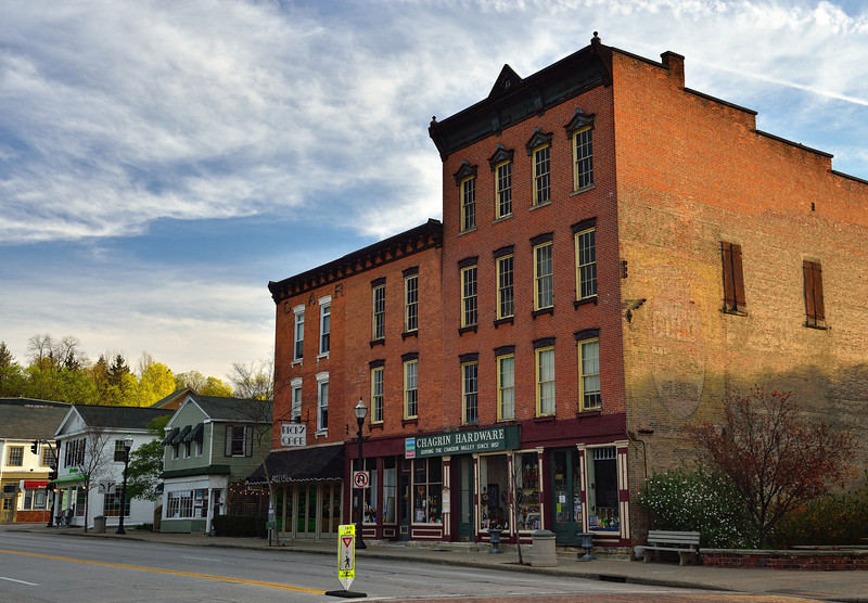 Rick's Cafe and the Hardware Store - Chagrin Falls, Ohio