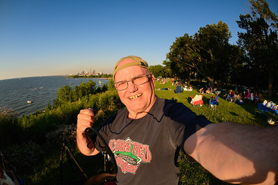 Me at Edgewater Park  - Cleveland, Ohio