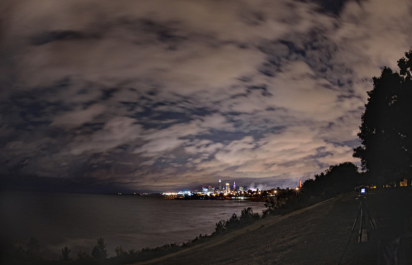 Cleveland from Edgewater Park