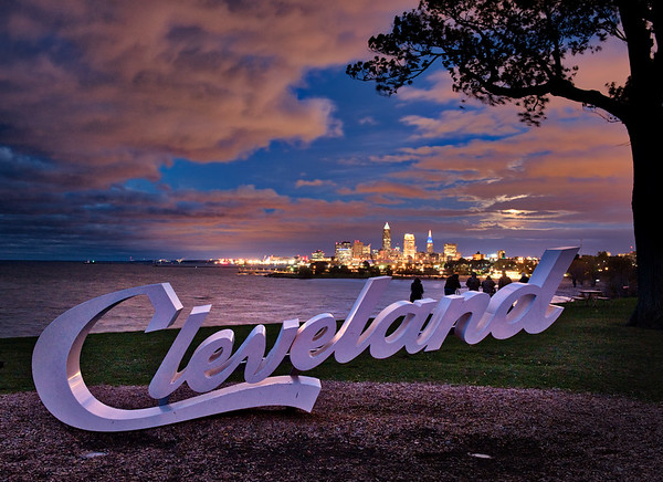 Full Moon Over Cleveland