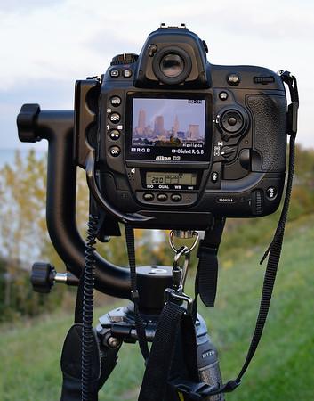 A View of Cleveland through a Nikon D3