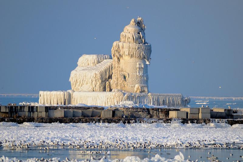 Cleveland' s Frozen Lighthouse