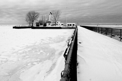 Old Coast Guard Station on Whiskey Island