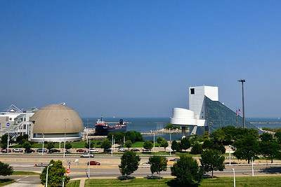 Rock n Roll Hall of Fame, The Mather, Science Center - Cleveland, Ohio