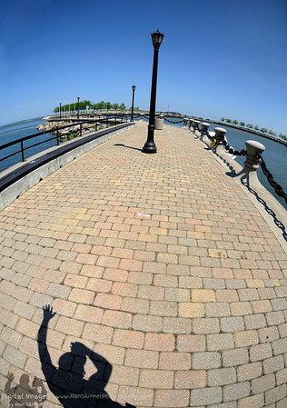 Cleveland's North Coast Harbor - My Shadow