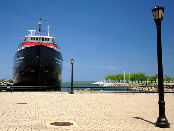 Cleveland's North Coast Harbor -  William G Mather Steamship