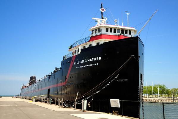 Cleveland's North Coast Harbor William G Mather Steamship