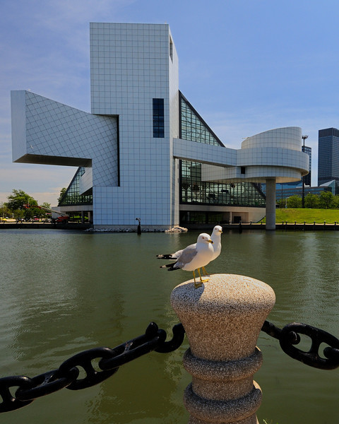 Cleveland's North Coast Harbor - Rock and Roll Hall Of Fame
