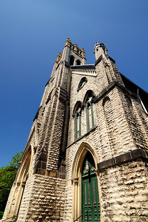 Saint Patrick Church in the Ohio City Neighborhood, Cleveland, Ohio