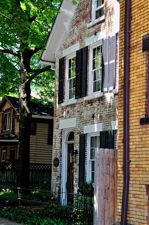 The Ohio City Neighborhood in Cleveland, Ohio