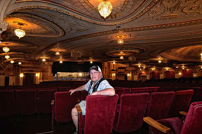 Ron at the Palace Theater - Playhouse Square - Cleveland, Ohio