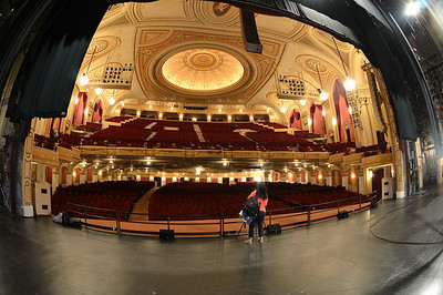 View from the Stage at the Palace Theater