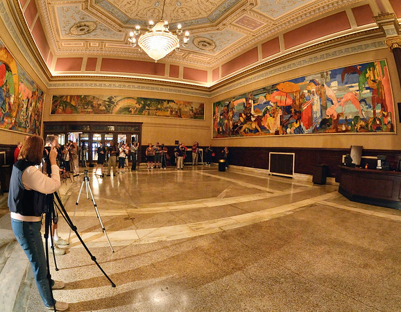 CPS Photographers in the State Theater Lobby - Playhouse Square - Cleveland, Ohio