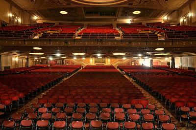 View from the Stage at The State Theater - Playhouse Square - Cleveland Ohio