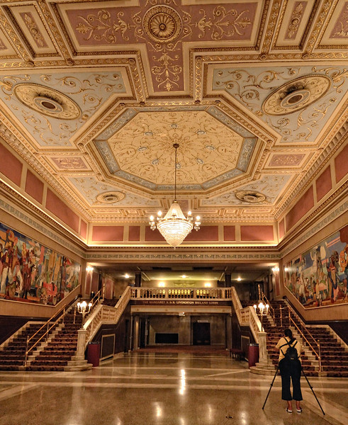 State Theater Lobby - Playhouse Square - Cleveland, Ohio