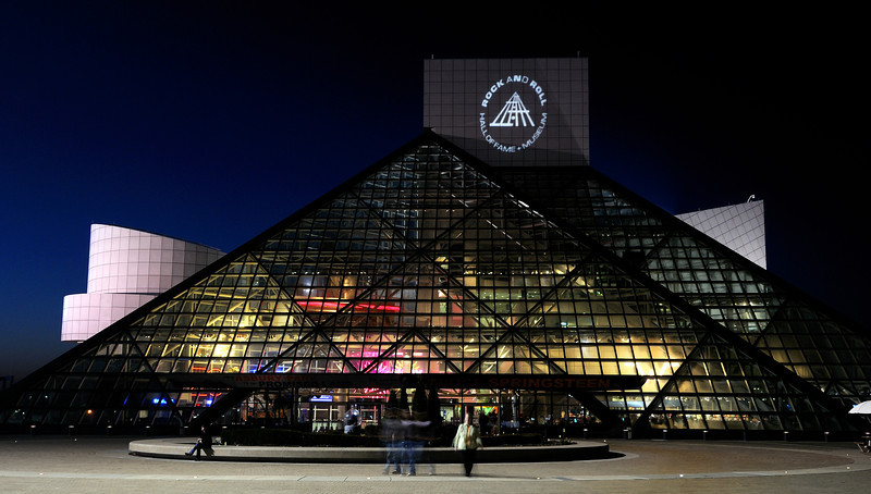 Rock and Roll Hall of Fame in Cleveland Ohio