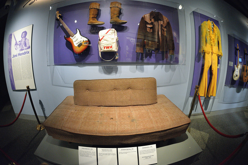Jimi Hendrix - Rock and Roll Hall of Fame