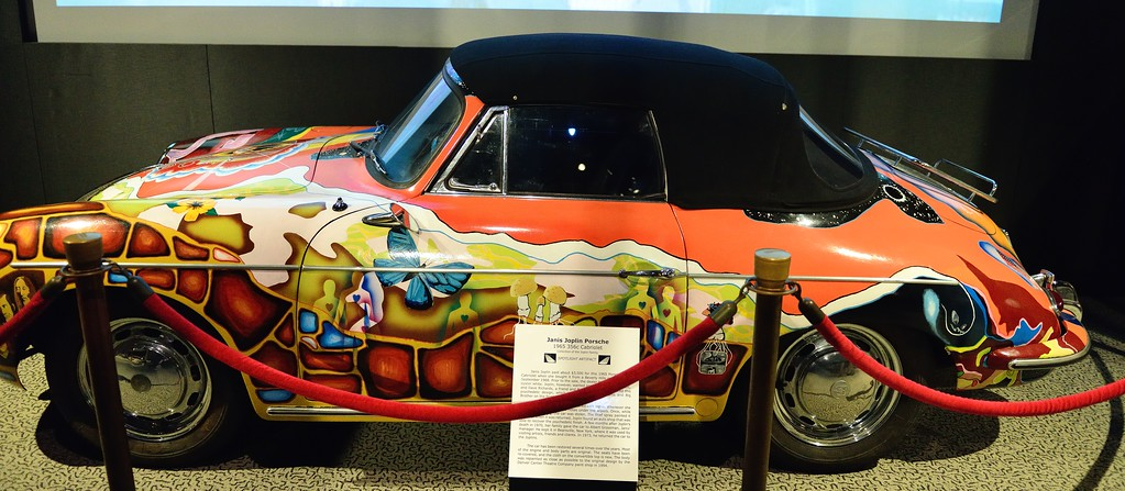 Janis Joplin's Porche - Rock and Roll Hall of Fame