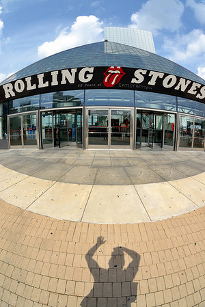 My Shadow at the Rock and Roll Hall of Fame