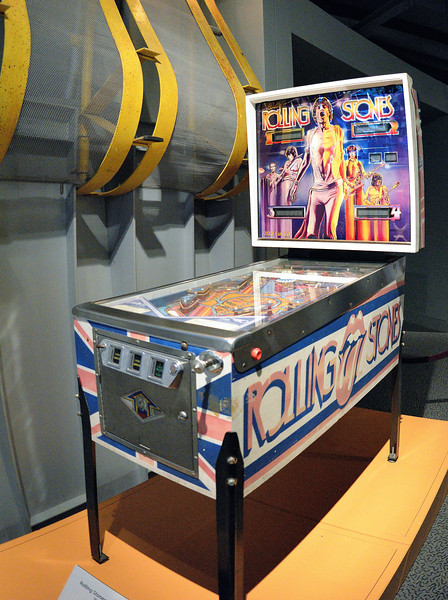 Stones Pinball Machine - Rock and Roll Hall of Fame
