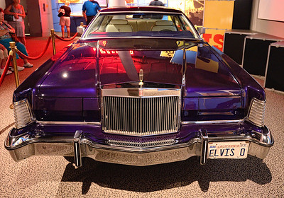 Elvis's Car - Rock and Roll Hall of Fame