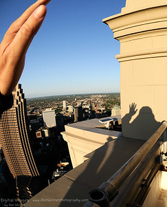 My Shadow - Observation Deck - Terminal Tower