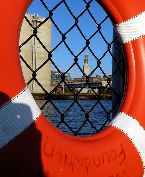 Life Preserver - Old Coast Guard Station - Whiskey Island - Cleveland, Oh