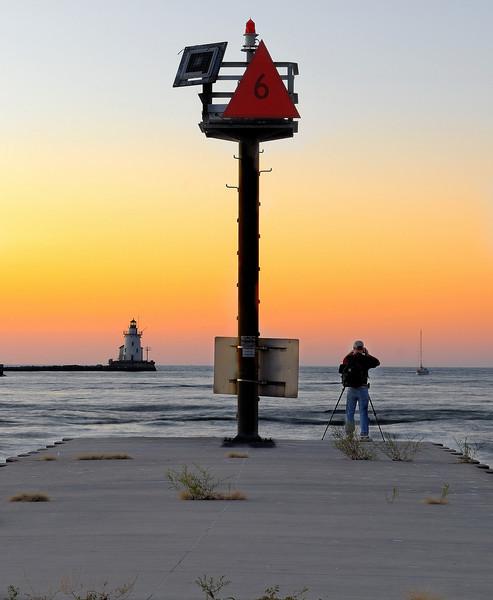 Photographer - Old Coast Guard Station - Whiskey Island - Cleveland, Oh