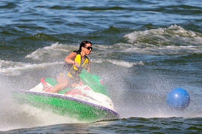 Jet Skier on Lake Erie - Lorain, Ohio