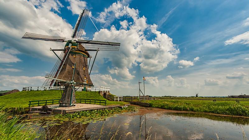 The Netherlands - Zevenhoven windmill