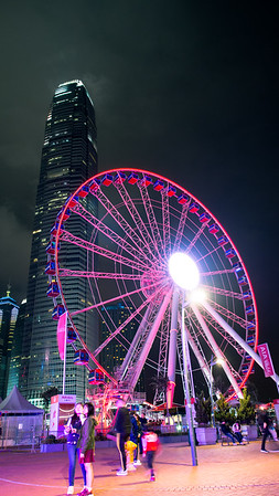 AIA HK Ferris Wheel and Two IFC