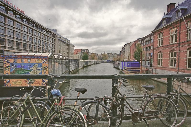 Gray Skies in Amsterdam