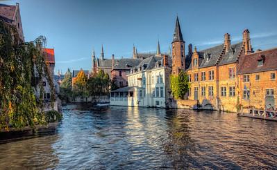 Sunlit Canal
