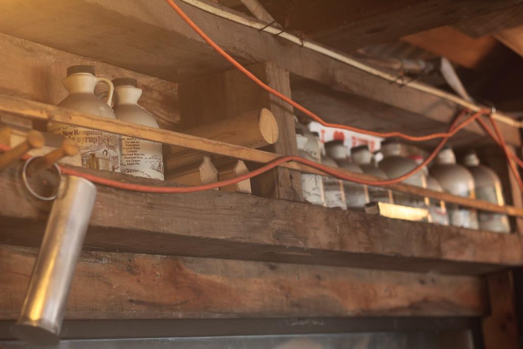 Bolduc Farm Sap House - Jugs<br /> Img_7909