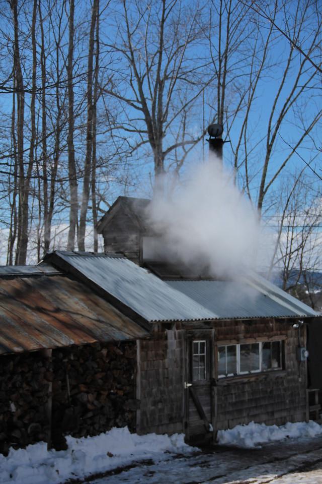 Bolduc Farms Sap House - Boiling<br /> Img_7771