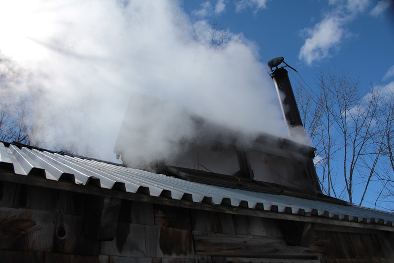Bolduc Sugar Shack: Lovely Day For Boiling<br /> IMG_7776