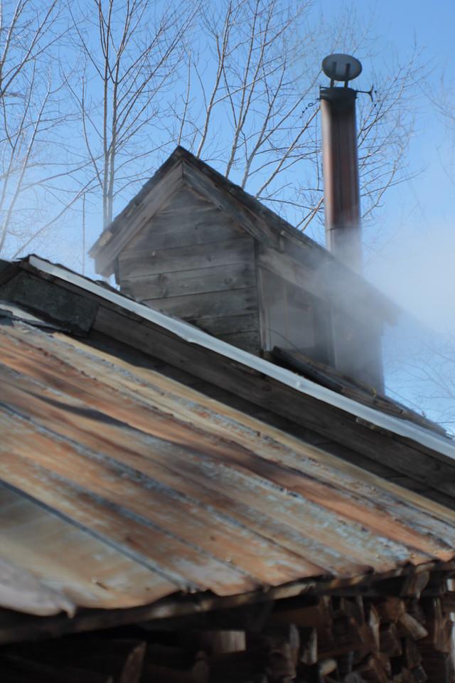 Bolduc Farms Sap House - Rusty Roof<br /> Img_7827