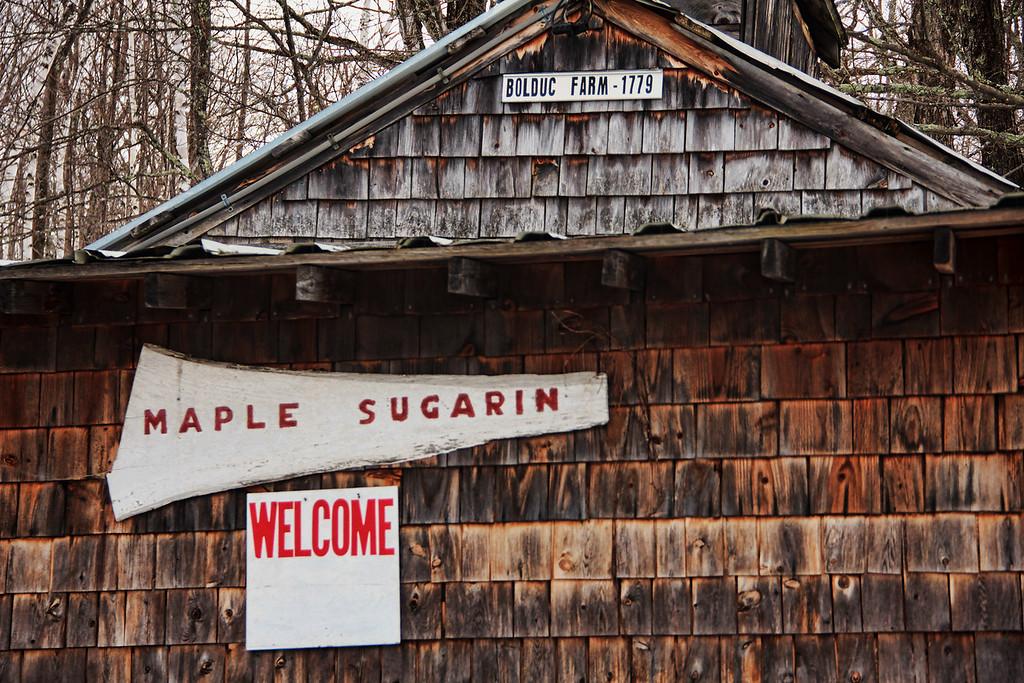 Bolduc Farm Sap House<br /> Img_7753