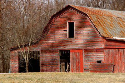 Old Red Barn Somewhere on a back country road in Catawba, NC