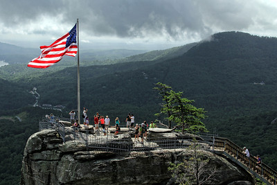 Chimney Rock, NC America the Beautiful
