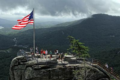 Chimney Rock, NC America the Beautiful
