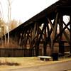 Franklin, NH. River Walk Train Trestle